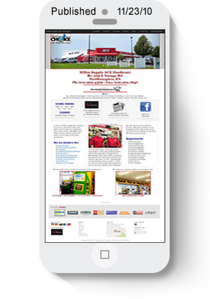 Miller Supply ace Hardware website link