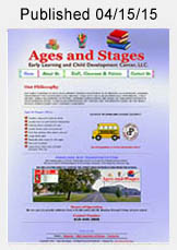 Ages & Stages Daycare website link