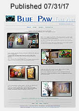 Blue Paw Fine Art website link