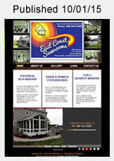 East Coast Sunrooms website link