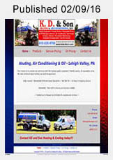 KD & Son Heating & Cooling website link