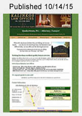 Kalinkos Law - Wills, Estate Law website link
