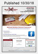 Michael Richline Contracting website link